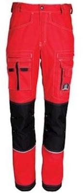 HAVEP 80083 broek - rood/zwart - 64