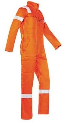 Sioen 017V Carlow overall - oranje - 48