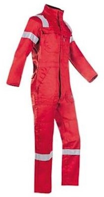 Sioen 017V Carlow overall - rood - 60