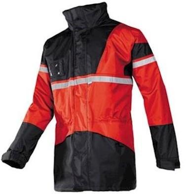Sioen 288A Cloverfield parka - rood/zwart - s