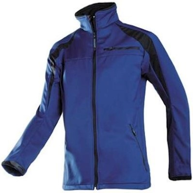 Sioen 9834 Piemonte softshell jas - marineblauw/zwart - l