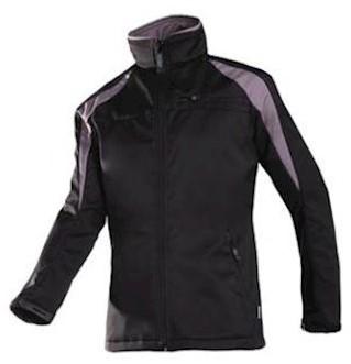Sioen 9834 Piemonte softshell jas - zwart/grijs - l