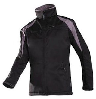 Sioen 9834 Piemonte softshell jas - zwart/grijs - 3xl