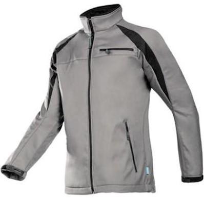 Sioen 9834 Piemonte softshell jas - grijs/zwart - l