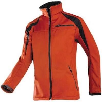 Sioen 9834 Piemonte softshell jas - rood/zwart - xl