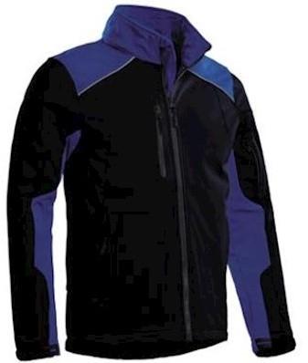 Santino Tour softshell jas - marineblauw/korenblauw - xxl