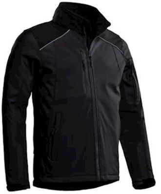 Santino Tour softshell jas - grijs/zwart - 3xl
