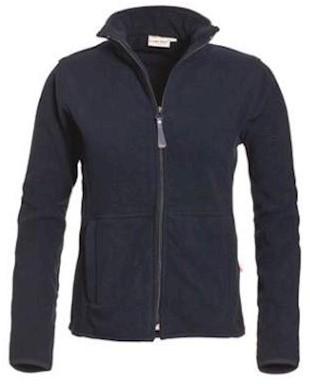 Santino Bormio dames fleece jas - marineblauw - m
