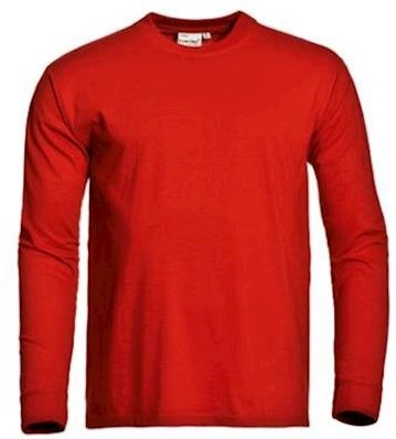 Santino James T-shirt - rood - m