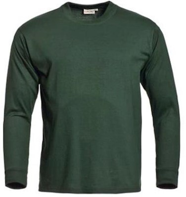 Santino James T-shirt - donkergroen - m