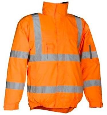 Sioen 404A Hobson jas - fluo oranje - m