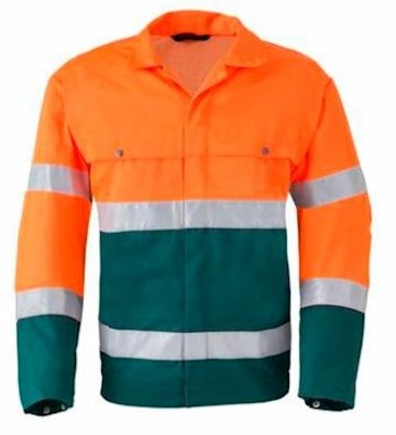 HAVEP 5105 jack - fluo oranje/groen - 62