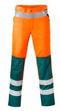 HAVEP 8410 broek - fluo oranje/groen - 52