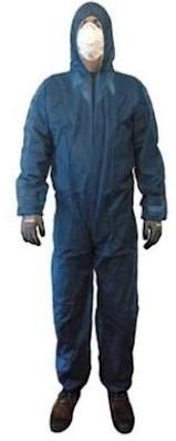 Overall polypropyleen ca. 45 grams - marineblauw - xl