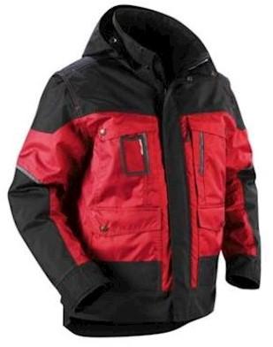 Blåkläder 4886 jas - rood/zwart - l
