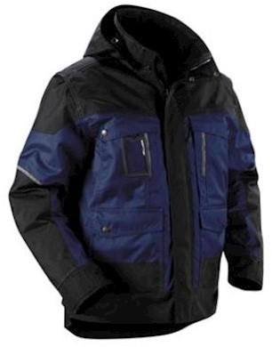 Blåkläder 4886 jas - marineblauw/zwart - l