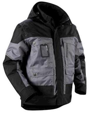 Blåkläder 4886 jas - grijs/zwart - l