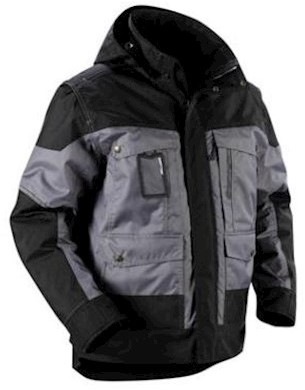 Blåkläder 4886 jas - grijs/zwart - 3xl