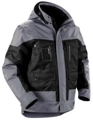 Blåkläder 4886 jas - zwart/grijs - s