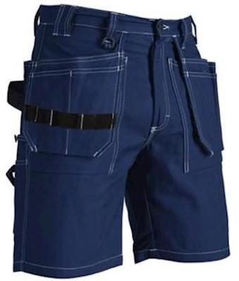 Blåkläder 1534 1370 korte broek - marineblauw - c52