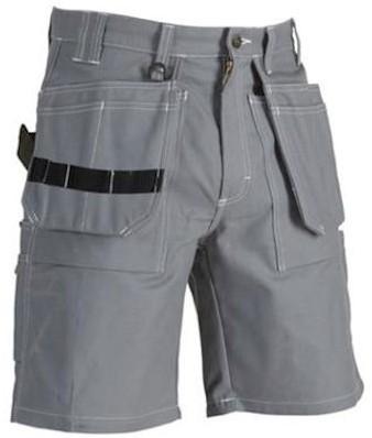 Blåkläder 1534 1370 korte broek - grijs - c52