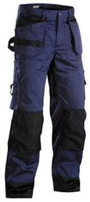Blåkläder 1503 broek - marineblauw/zwart - c62