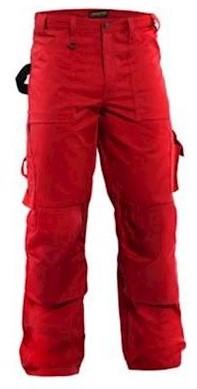 Blåkläder 1570 1860 broek - rood - c50