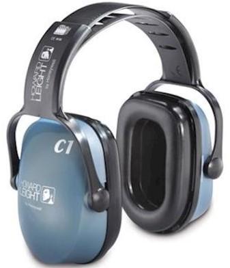 Howard Leight Clarity C1 gehoorkap met hoofdband