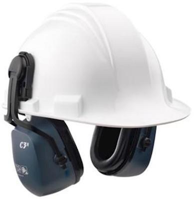 Howard Leight Clarity C3H gehoorkap met helmbevestiging