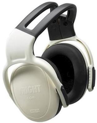 MSA left/RIGHT LOW gehoorkap met hoofdband