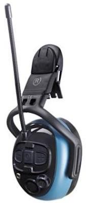 MSA left/RIGHT Dual Pro gehoorkap met helmbevestiging