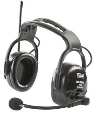 MSA left/RIGHT Wireless World Dual gehoorkap met hoofdband