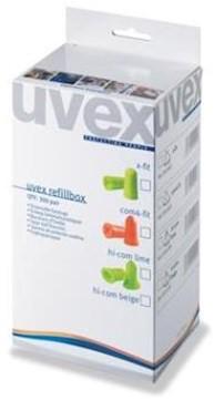 uvex x-fit 2112-022 oordop navulling à 300 paar