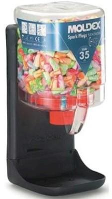 Moldex 782501 dispenser klein met 250 paar Spark Plugs oordoppen