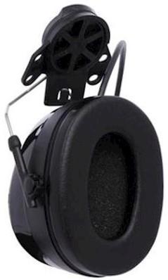 3M Peltor Worktunes Pro AM/FM Radio gehoorkap met helmbevestiging