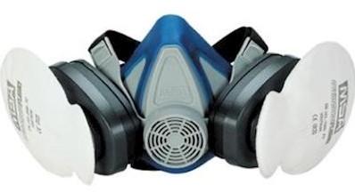 MSA Advantage 200 LS halfgelaatsmasker - l