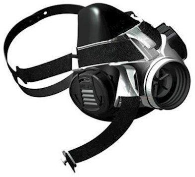 MSA Advantage 410 halfgelaatsmasker - l