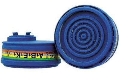Spasciani 2030 gas- en dampfilter A1B1E1K1