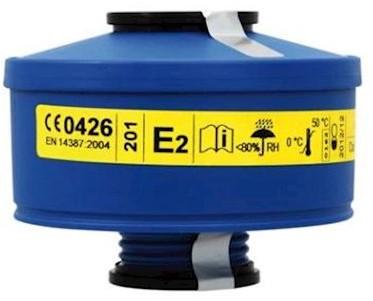 Spasciani 201 gas- en dampfilter E2