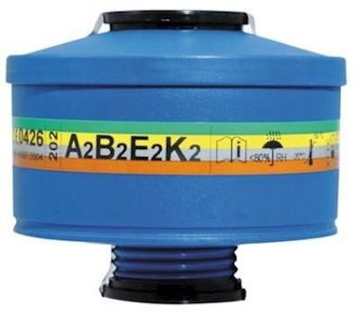 Spasciani 202 gas- en dampfilter A2B2E2K2