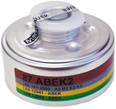 MSA 90 gas- en dampfilter A2B2E2K2
