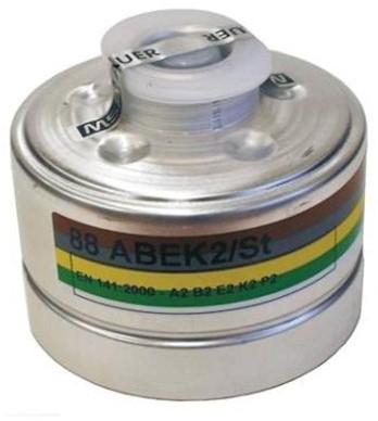 MSA 92 combinatiefilter A2B2E2K2-P2 R D