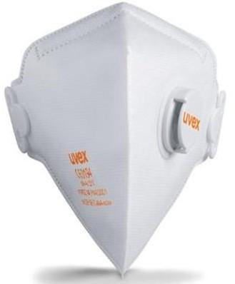 uvex silv-Air 3210 stofmasker FFP2 NR D met uitademventiel
