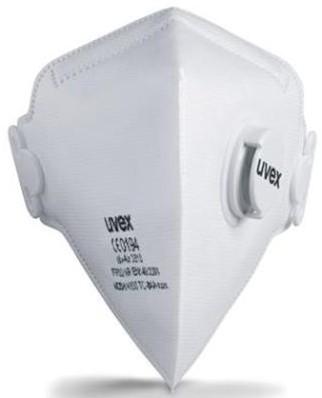 uvex silv-Air 3310 stofmasker FFP3 NR D met uitademventiel