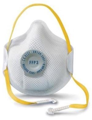 Moldex 250501 stofmasker FFP3 NR D met uitademventiel