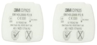 3M Secure Click D7925 stoffilter P2 R