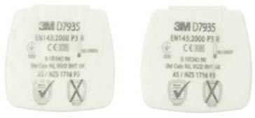 3M Secure Click D7935 stoffilter P3 R