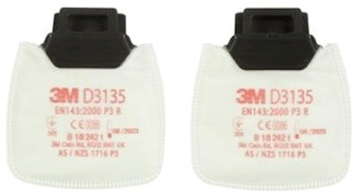 3M Secure Click 2135 stoffilter P3 R