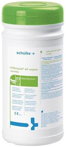 Mikrozid AF Tissues Jumbo 20x27cm met Dispenser