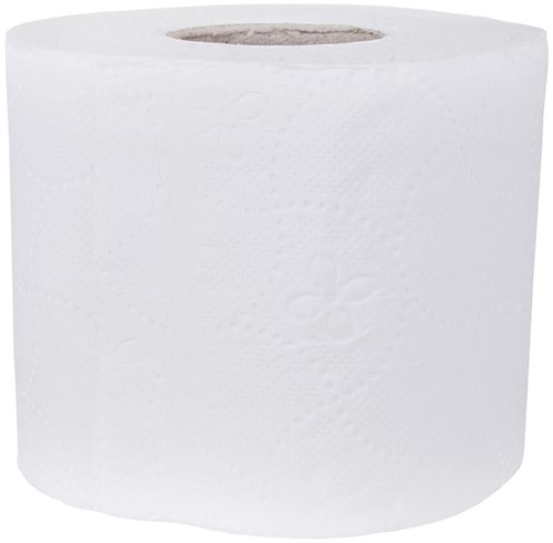 Toiletpapier Cellulose (10x4) 2-laags
